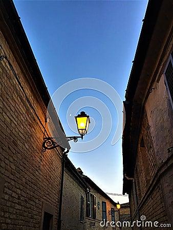 Free Sky And Street Lamp Stock Photos - 97082333