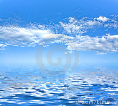 Free Sky Background And Sea Royalty Free Stock Image - 10396146