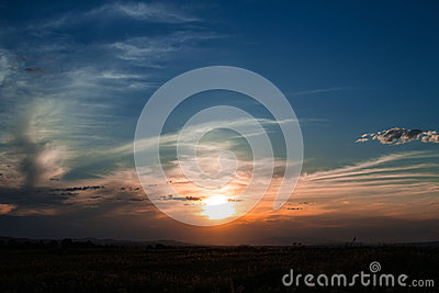 Sky background, sunrise