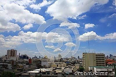 Sky in the bangkok