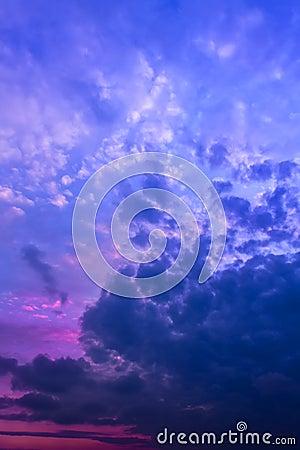 Free Sky Before Sunrise Stock Image - 34625731