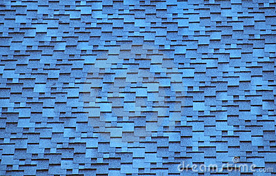 The Sky Blue Tiles Roof Royalty Free Stock Photo Image