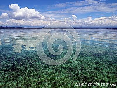 Sky and calm sea