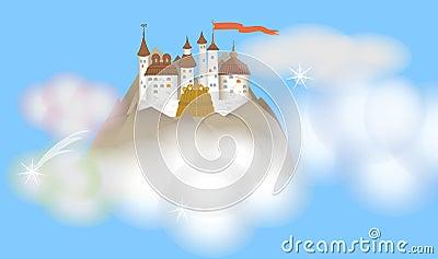 A sky castle