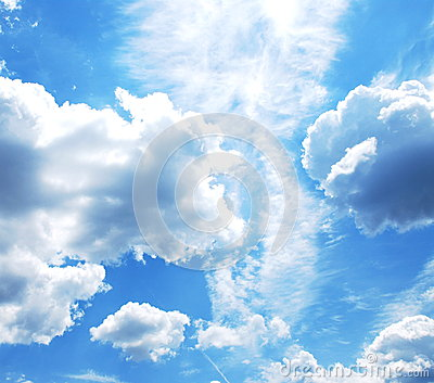 Sky With Clouds Royalty Free Stock Photography - Image: 28649517