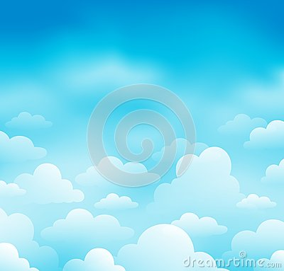 Sky and clouds theme image 1