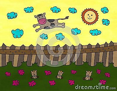 Sky cow