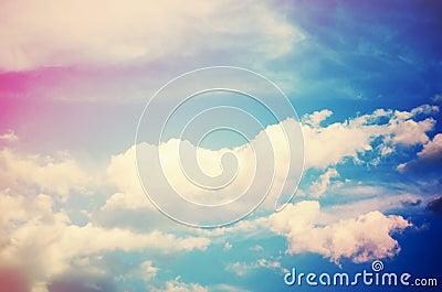 Sky (cross-processed colors)