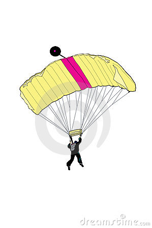 Free Sky Diver Royalty Free Stock Photography - 6676567