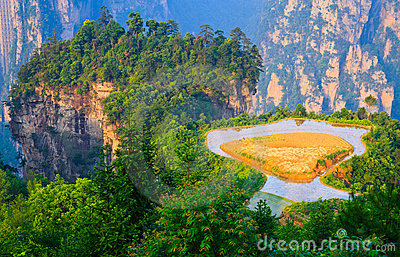 Sky Farmland, Zhangjiajie China