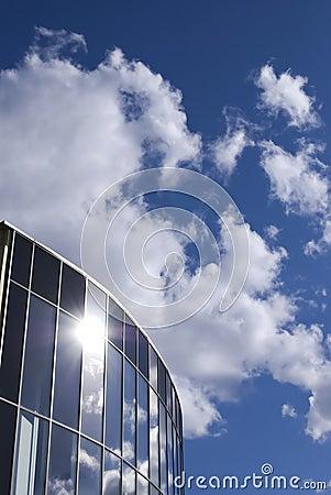 Free Sky In Windows Royalty Free Stock Photos - 14646348