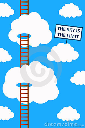 Free Sky Is The Limit Royalty Free Stock Image - 23158156
