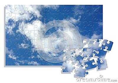 Sky jigsaw