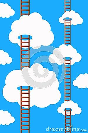 Sky ladders