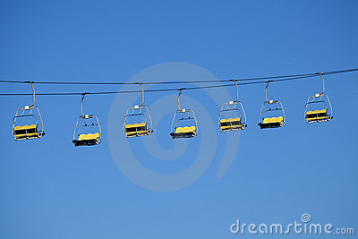 Sky Lift Amusement Park Ride