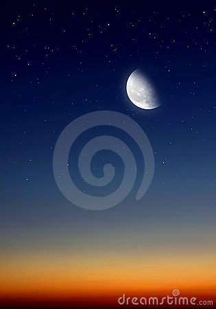 Sky At Night Stock Images - Image: 21698984