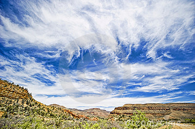 Sky over Grand Canyon