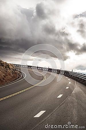 Sky Road Curve