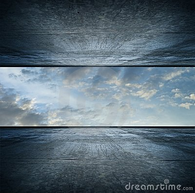 Free Sky Room. Square Version Royalty Free Stock Images - 10172269