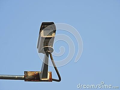 Sky security camera