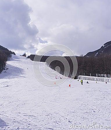 Sky slope