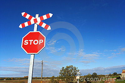 Sky and stop sign