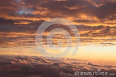 Sky sun set