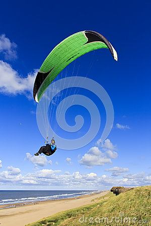 Sky Surfer Paraglider Editorial Photo
