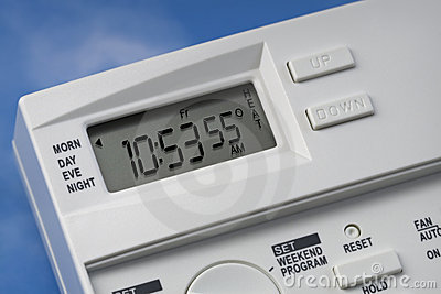 Sky Thermostat 55 Degrees Heat V1