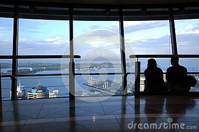 Sky Tower - Auckland New Zealand NZ Editorial Image