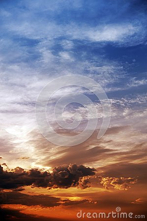 Free Sky Vertical Background Stock Photos - 27877513