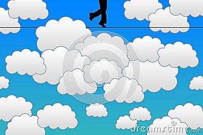 Sky walking