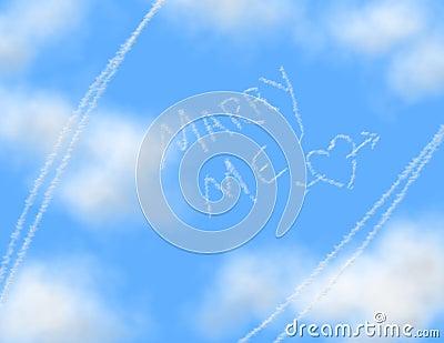 Sky Writing - MARRY ME