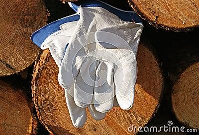 Skyddande handskar