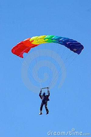 Free Skydiver Royalty Free Stock Photography - 1396027