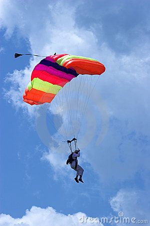 Free Skydiver Royalty Free Stock Photography - 2631287