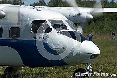 Skydiver s plane