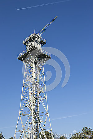 Skydiving tower