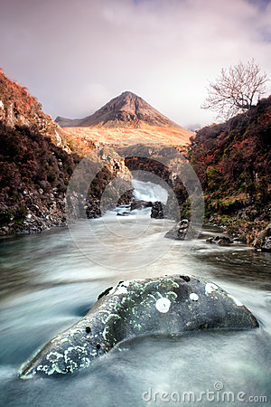 Free Skye S Fairy Pools Royalty Free Stock Photos - 28486838