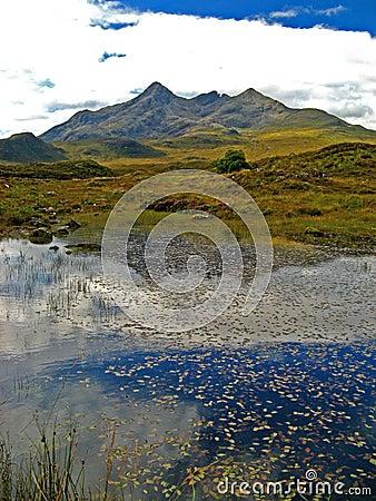 Free Skye, Sligachan River 04 Royalty Free Stock Photos - 5869978