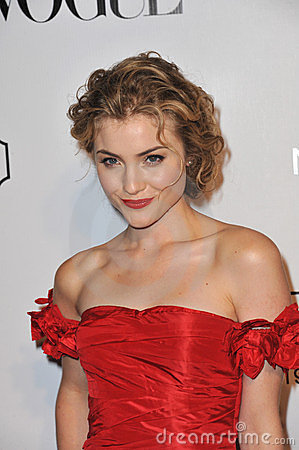 Skyler Samuels Editorial Stock Image