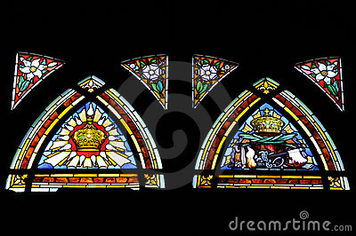 Skylight Artwork of church window