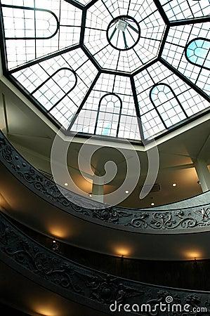Skylight at Rome Guggenheim - Museum Interior