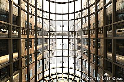 Skylight and modern  building