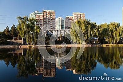 Skyline of Beijing