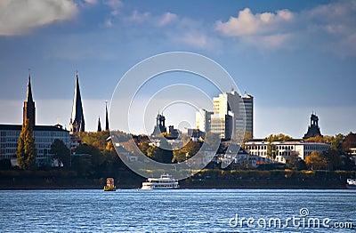 Skyline of Bonn, Germany