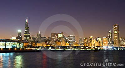 The Skyline of Chicago