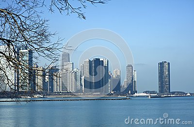 Skyline Chicago-Illinois