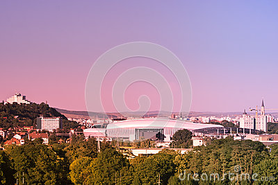 Skyline Of Cluj Napoca Royalty Free Stock Images - Image: 25562229