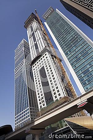 Skyline de Dubai, UAE